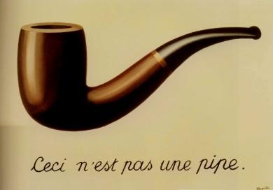René Magritte. La trahison des images. 1929. LA County Museum of Art
